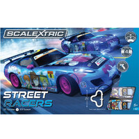 SCALEXTRIC STREET RACERS SLOT CAR SET - 35-C1376