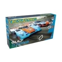 SCALEXTRIC Gulf Racing Slot Car Set - 35-C1384