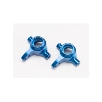 TRAXXAS Steering Blocks Left And Right Blue Anodized Slash