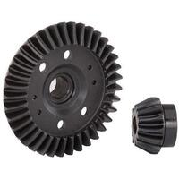 TRAXXAS RING GEAR, DIFFERENTIAL/ PINION GEAR, DIFFERENTIAL (REAR) - 38-6879R