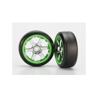TRAXXAS Tyres And Wheels Assy Glued
