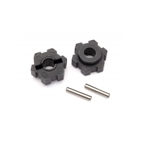 TRAXXAS WHEEL HUBS, HEX (2)/ 2.5X12 PINS (2) - 38-8956