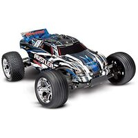 TRAXXAS Rustler Stadium Truck Ready To Run W/XL-5 ESC - 39-37054-1BLUEX