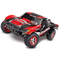 TRAXXAS SLASH BRUSHED 2WD SHORT COURSE RTR - RED- 39-58034-1RED