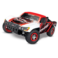 TRAXXAS SLASH 4X4 4WD TSM - RED - 39-68086-4RED