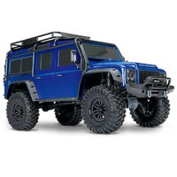 TRAXXAS TRX-4 SCALE & TRAIL CRAWLER LAND ROVER - BLUE - 39-82056-4BLUE