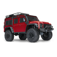 TRAXXAS Trx-4 Scale & Trail Crawler Land Rover, Tqi 2.4, 4 Channel Radio, No Battery & Charger - 39-82056-4RED