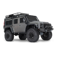 TRAXXAS Trx-4 Scale & Trail Crawler Land Rover, Tqi 2.4, 4 Channel Radio, No Battery & Charger -39-82056-4SLVR