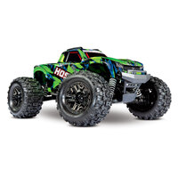 TRAXXAS HOSS 1-10th 4WD Brushless Ready to Run Monster Truck - Green Body - 39-90076-4GRN