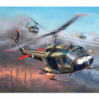 Italeri Plastic Model Kit Uh-1B Huey 1:72 - 51-0040S