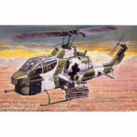 Italeri Plastic Model Kit Ah-1W Super Cobra 1:72 - 51-0160S
