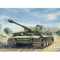 Italeri Plastic Model Kit Tiger I  Ausf. E/H1 1:35 - 51-0286S