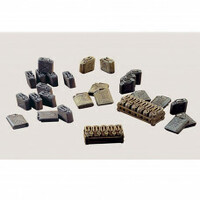 Italeri Plastic Model Kit Jerrycans 1:35 - 51-0402S