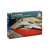 Italeri Plastic Model Kit F/A-18 With Australian Decals 1:72 - 51-1429S
