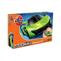 Airfix Plastic Model Kit QUICKBUILD MCLAREN P1 - NEW COLOUR