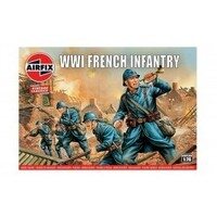 Airfix Plastic Model Kit WWI FRENCH INFANTRY 1:76 SCALE