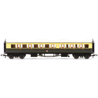 Hornby Gwr, Collett 'Bow Ended' Corridor Composite (L/H), 6528 - Era 3 - 69-R4682A