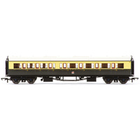 Hornby Gwr, Collett 'Bow Ended' Corridor Composite (R/H), 6527 - Era 3 - 69-R4683A