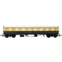 Hornby Gwr, Collett 57' Bow Ended E131 Nine Compartment Composite (Left Hand), 6626 - Era 3 - 69-R4874A