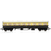 Hornby Gwr, Collett 57' Bow Ended E131 Nine Compartment Composite (Right Hand), 6362 - Era 3 - 69-R4875