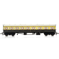 Hornby Gwr, Collett 57' Bow Ended E131 Nine Compartment Composite (Right Hand), 6627 - Era 3 - 69-R4875A