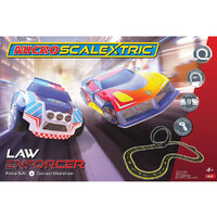 MICRO SCALEXTRIC LAW ENFORCER (MAINS POWERED) - NEW TOOLING 2019 - 70-G1149
