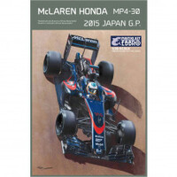 EBBRO MCLAREN HONDA MP4-30 2015 JAPAN GP 1:20