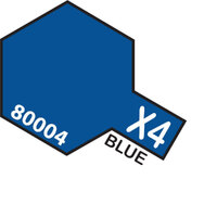 TAMIYA X-4 Blue Enamel Paint Gloss 10ml - 75-T80004