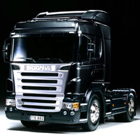 TAMIYA SCANIA R470 FULL OP BLACK FIN. - 79-T23649