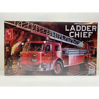 AMT 1204 American LaFrance Ladder Chief Fire Truck Plastic Model Kit - AMT1204