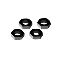 Arrma Wheel Nut Aluminum 17mm Black (4), AR310449 - ARAC9763