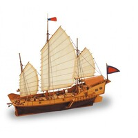 Artesania 18020 1/60 Red Dragon Wooden Ship Model - ART-18020