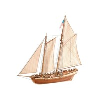 Artesania 22135 1/41 Virginia Schooner Wooden Ship Model - ART-22135