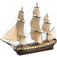Artesania 22517 1/89 La Fayette Hermione Wooden Ship Model - ART-22517