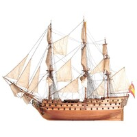 Artesania 22860 1/90 San Juan Nepomuceno Wooden Ship Model - ART-22860