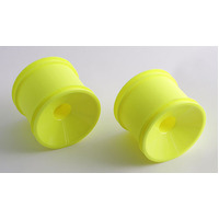 Team Associated Front Dish Truck Wheel Yellow - Ass7850
