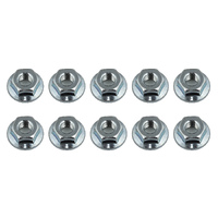 Team Associated Nuts, M4 Serrated Wheel Nuts - Ass91826