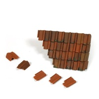 Vallejo SC230 Damaged Roof Section and Tiles Diorama Accessory - AVSC230