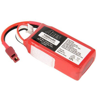 Firelands Ares Azsa1631 1000Mah 2-Cell/2S 7.4V 20C Lipo Battery. T-Connector: Gamma V - Azsa1631