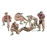 Bronco CB35140 1/35 W.W.II British & Commonwealth War Correspondent Set Plastic Model Kit - BRO-CB35140