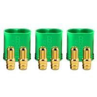 Castle Creations Polarized Bullet Connectors, Male, 6.5mm, CC-BULLET-6.5PM - CSE011006800