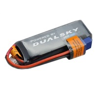 Dualsky 900mah 2S HED LiPo Battery, 50c - DSB31797