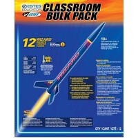 Estes 1754 Bulk Wizard (12 pk) Rockets Skill Level 1 - EST-1754