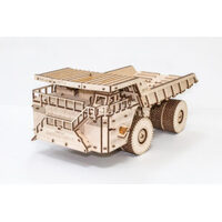 Eco-Wood-Art Model With Rubber Band Engine, Opening Body And Doors, Visual Engine System - Ewa-Belaz-75710