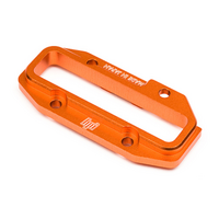 HPI 100887 ALUMINIUM UPPER CENTRE BULKHEAD (ORANGE) - HPI-100887