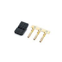 KO PROPO SERVO CONNECTOR PLUG SET BLACK - KO36511