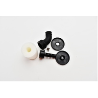 C.Y 1/10 air filter (Black) + black elbow