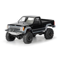 PROLINE JEEP COMANCHE FULL BED CLEAR BODY FOR CRAWLERS - PR3362-00