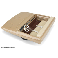 PROLINE CLASSIC INTERIOR (CLEAR) FOR MOST 1:10 CRAWLER BODIES (WITH TRIMMING) - PR3495-00