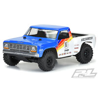 PROLINE 1984 DODGE RAM 1500 RACE TRUCK CLEAR BODY FOR SLASH & PRO-FUSION - PR3532-00